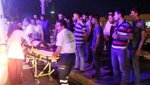 Şanlıurfa'da motosikletin çarptığı bisikletli yaralandı