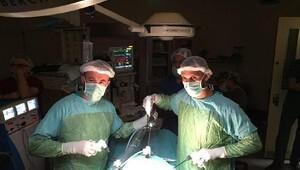 Düzcede ilk kez rahmin kapalı ameliyatla alınması operasyonu yapıldı
