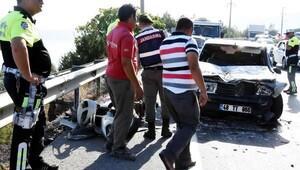 Bodrum'daki 18 aracın karıştığı zincirleme kazada 12 yaralı