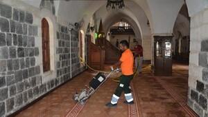 Kilis'te camiler temizleniyor