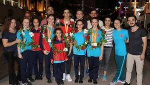 Manisalı cimnastikçiler gurur kaynağı