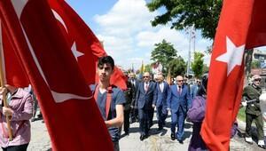 Atatürk'ün Erzurum'a gelişinin 97'nci yıl dönümü kutlandı