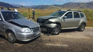 Sivas'ta kaza: 5 yaralı
