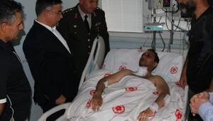 Yaralı Pilot Üsteğmen, GATAya sevk edildi