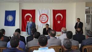 Vali Yavuz: Millet patron, biz işçiyiz
