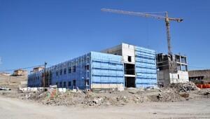 Pursaklar Devlet Hastanesinin yüzde 25i tamam