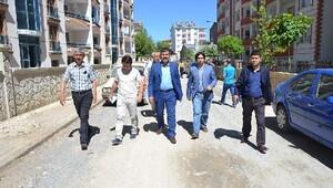Başkan Asya, Erdoğan Caddesini genişletecek