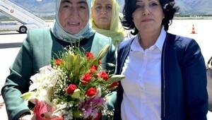Başbakan Binali Yıldırım'ın eşi Erzincan'da