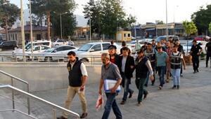 Erzincan'da 2 general ile 6 hakim ve savcı tutuklandı