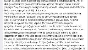 Balıkesir'de demokrasi nöbeti sürüyor
