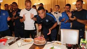 Adana Demirspor'da Vederson'a doğum günü