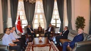 AFAD Başkanından Valiyi Çataklı'ya ziyaret