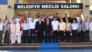 Uşak Belediye Meclisi'nde darbeye karşı ortak deklarasyon