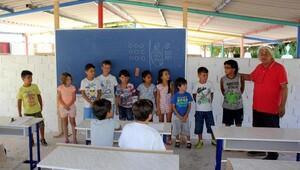 Bademler'de matematiği oyunlarla öğreniyorlar