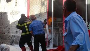 Kilis'te lokanta yangını korkuttu