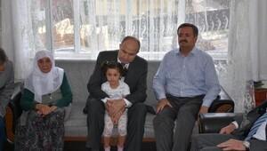Vali Kılıçlar'dan şehit Gülşen ailesine ziyaret