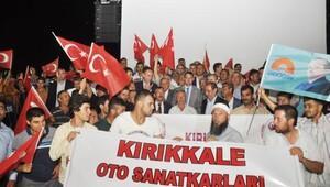 Esnaf Odaları'ndan darbe protestosu