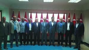 Başkanlardan Vali Yavuz'a teşekkür