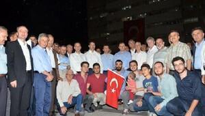 Kırıkkale Üniversitesi'nden 'Demokrasi Nöbeti'ne destek