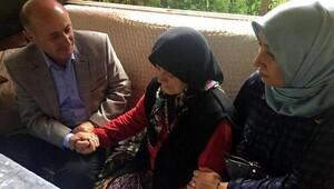 Vali Azizoğlu, Yusufeli'deki şehitlerin ailelerine başsağlığı diledi