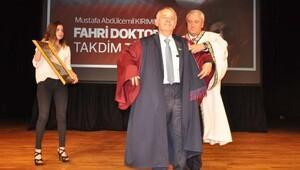 Kırımoğlu'na fahri doktora