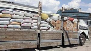 Kamyon içinde 62 bin paket kaçak sigara yakalandı