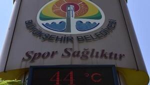 Adana'da hissedilen sıcaklık 41 dereceyi buldu
