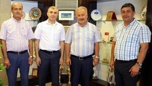 Başkan Şahin'den yeni kurum müdürlerine ziyaret