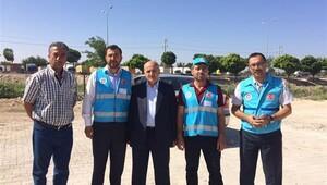 Türkiye Diyanet Vakfı yardımları Kilis'e ulaştı