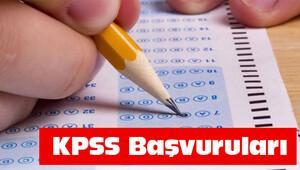 KPSS başvuruları nasıl yapılıyor? (KPSS'ye başvurucak adaylar dikkat)