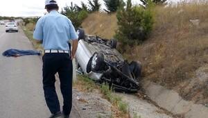 Kırıkkale'de kaza: 1 ölü, 4 yaralı