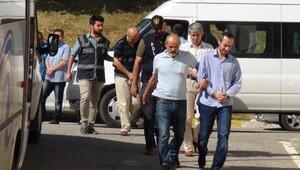 FETÖ soruşturmasında serbest bırakılan 6 polis tutuklama talebiyle mahkemeye sevk edildi