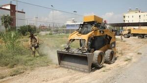 Toroslarda boş araziler temizleniyor