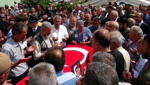 Şehit polis, Erzincan'da son yolculuğuna uğurlandı