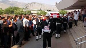 Şehit polis, Erzincan'da son yolculuğuna uğurlandı - ek fotoğraflar