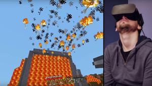 Minecraft sonunda Oculus Rifte de girdi