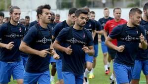 Trabzonspor'da kondisyon antrenmanı