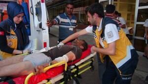 IŞİD'in attığı havan mermisi, Elbeyli'de araziye düştü (4)