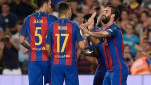 Barcelona Sevilla'yı Arda Turan'ın golleri ile geçti (Maç özeti)