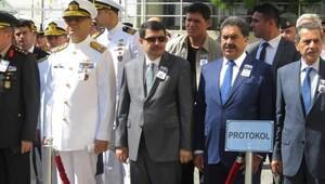 Şehit denizci askerler için GATA'da tören yapıldı