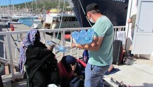 Çeşme'de denizde iki günde 99 mülteci yakalandı