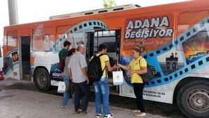 Otogardan üniversiteye ücretsiz otobüs