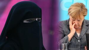 Burkalı kadın Almanya'ya uyum sağlayamaz mı?