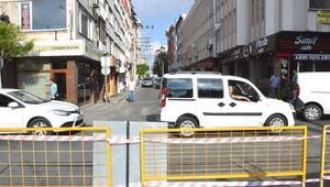 Kumyol Caddesi araç trafiğine kapatıldı