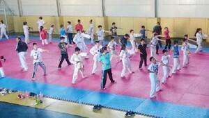 Yaz Spor Okulu'nda geleceğin sporcuları yetişiyor