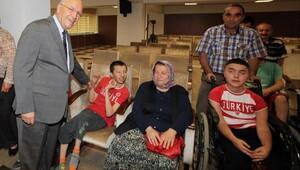 Yenimahalle'de engellilere büyük destek