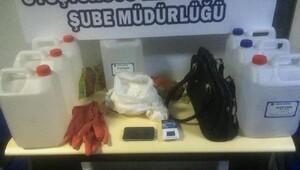 Yalova'da 1 kilo 120 gram bonzaiye 1 tutuklama