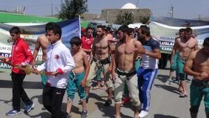 Uluslararası Altın Kemer Karakucak Güreşleri başladı