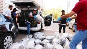 Kırıkkale'de 175 kilo esrar ele geçirildi