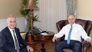 Rektör Çomaklı'dan Vali Azizoğlu'na Ziyaret